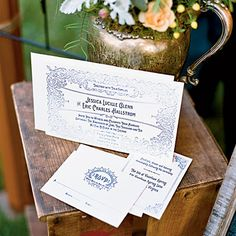 Vintage Graphics Wedding Invitations - Unique Wedding Invitations - Southern Living