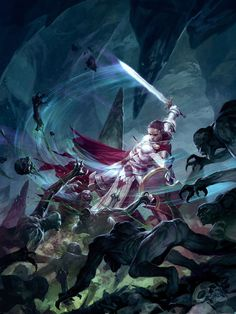 2D Art: Champions of Purity - 2D Digital, Concept art, FantasyCoolvibe – Digital Art