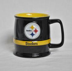 Pittsburgh Steelers Team NFL Sports Concepts Helmet Coffee Mug 1986