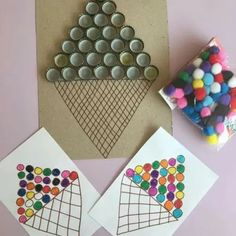 Toddler Learning Activities, Motor Activities, Infant Activities, Kids Learning, Montessori Education, Montessori Activities, Preschool Crafts, Crafts For Kids, Diy Crafts