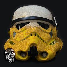 Strip Trooper design by mancinasART! More Beer, Dark Side, Football Helmets, Starwars, Skull, Dance, Fictional Characters, Nirvana, Grunge