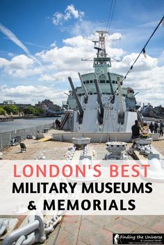A guide to London's Military Museums and Memorials! The capital of the UK has some of the best military museums, covering a wide range of themes, and are a must when visiting the city! #london #uk #travel