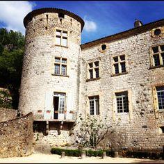Vogüe castle / Ardèche - France