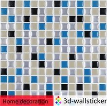 Peel and stick mosaic tile for apartment decor