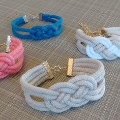 I'm so happy with how these bracelets turned out! I'm going to be leading this craft with my moms' group, so I had some friends over last week to try it out. It was a fun little project and so easy too. I think they're totally on trend and the perfect finishing touch to your spring wardrobe.