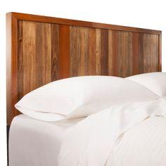 Mudhut™ Asmara Headboard - Full/Queen i need! Costco Patio Furniture, Walnut Bedroom Furniture, Vintage Patio Furniture, Grey Painted Furniture, Black And White Furniture, Bedroom Furniture Makeover, Simple Furniture, New Furniture, Orange Rooms