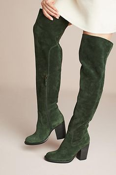 Kelsi Dagger Brooklyn Logan Over-The-Knee Boots (ad)  #AnthroFave