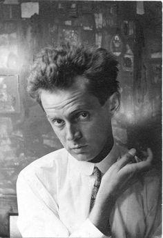 Egon Schiele in 1914 by Anton Josef Trčka
