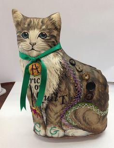 Chocolate Gables Quilt Halloween Cat