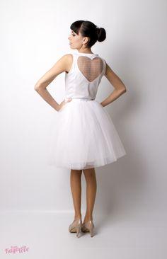 6a0d1879d3d2 Multifunkční svatební šaty Tulle heart bride   Zboží prodejce From Kaya  with love
