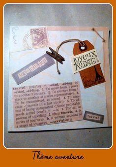 carte pour anniversaire sur le thème de l'aventure, du voyage : Cartes par del-crea-fete