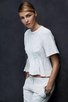 valentina zelyaeva model5 Valentina Zelyaeva Poses for Hans Neumann in Harpers Bazaar Latin America