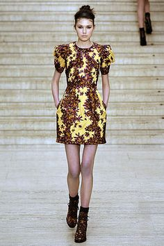 Erdem Fall 2010 Ready-to-Wear Collection Slideshow on Style.com