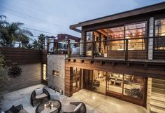 Hard to believe this modern home was built in 1923.