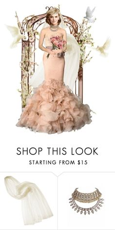 """Wedding"" by misshonee ❤ liked on Polyvore featuring Lanvin, Vera Wang and Emma Watson"