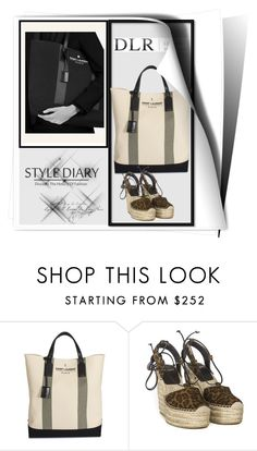 """""""DLR LUXURY BOUTIQUE Contest with prize"""" by suadapolyvore ❤ liked on Polyvore featuring Yves Saint Laurent, women's clothing, women, female, woman, misses and juniors"""