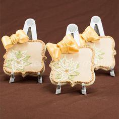 Create A Gumpaste Bows on Gluten Free Sugar Cookies Card      http://bobbiesbakingblog.com/