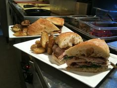 Milwaukee:  Porchetta sandwich