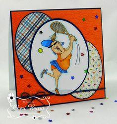 ONECRAZYSTAMPER.COM - Serving up some Birthday Love by Cheri - using Art Impressions - Birthday Love (4529)