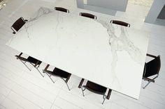 Calacatta maximum Marmi maximum, white marble/granite effect porcelain tiles Granite Tile, Marble Countertops, Calacatta Nuvo, Stone Look Tile, Quartz Slab, Italian Tiles, Marble Effect, Vinyl Flooring, Porcelain Tile