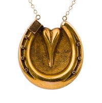 OMG I want this necklace sooo bad!!! With my horse's name engraved on the back, too :)