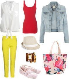 """Lunch by the Lake"" by frogchickk on Polyvore"