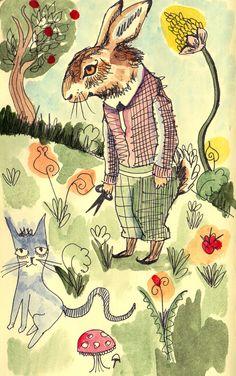bunny garden katieohagan.co.uk