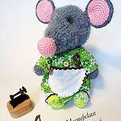 Куклы и игрушки ручной работы. Ярмарка Мастеров - ручная работа Мышка хозяюшка. Handmade.