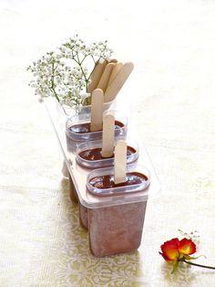 Creamy Chocolaty Fudgesicle