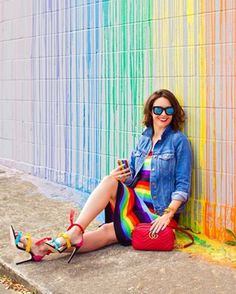 Sit a spell  Hoping you have some time to relax and recharge this Sunday  this colorful look was on wearwherewellcom this week Plus you can shop it via liketoknowit httpliketkitqYkE liketkit LTKStyleTip LTKShoeCrush LTKBag LTKBump stylethebump weeks  photo mariterecr art mrd