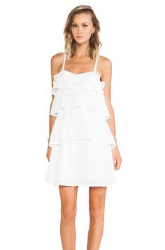 Diane von Furstenberg Avery Dress in White