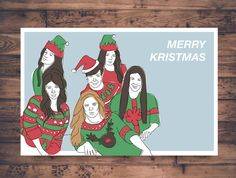 Printable Christmas Card Bitch Better Have My by BEYGOODco | Home ...