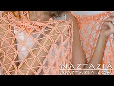 DIY Tutorial - Learn How to Crochet Flower of Life Chain Shawl - Star Stitch - YouTube