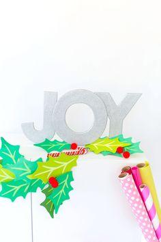 DIY Wood Joy Decor |