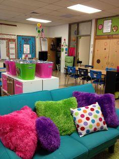 My mom's fourth grade classroom