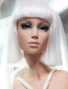Female fashion doll - wow, she looks real!!