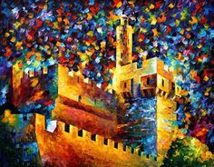 TOWER - PALETTE KNIFE Oil Painting On Canvas By Leonid Afremov http://afremov.com/TOWER-PALETTE-KNIFE-Oil-Painting-On-Canvas-By-Leonid-Afremov-Size-30-x40.html?utm_source=s-pinterest&utm_medium=/afremov_usa&utm_campaign=ADD-YOUR