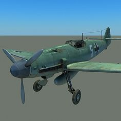 3d model messerschmitt