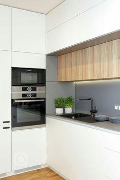 Kitchen Room Design, Home Room Design, Modern Kitchen Design, Home Decor Kitchen, Kitchen Interior, Home Kitchens, Small Space Interior Design, Diy Kitchen Storage, Kitchen Units