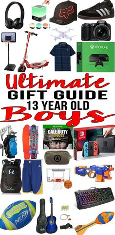 BEST Gifts 13 Year Old Boys Top Gift Ideas That Yr Will