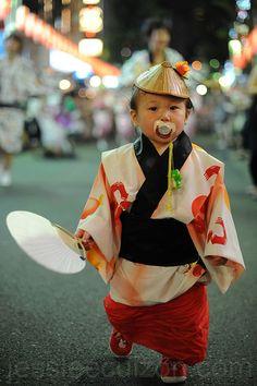 Festival: Awa Odori in Kagurazaka, Japan-lovely!