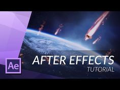 (30) HOW TO CREATE A METEOR WITH PARTICULAR IN AFTER EFFECTS - YouTube