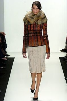 J. Mendel Fall 2004 Ready-to-Wear Fashion Show - Isabeli Fontana, Gilles Mendel