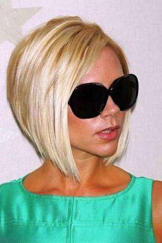 Cortes de pelo bob escalados: fotos de los peinados - Victoria look
