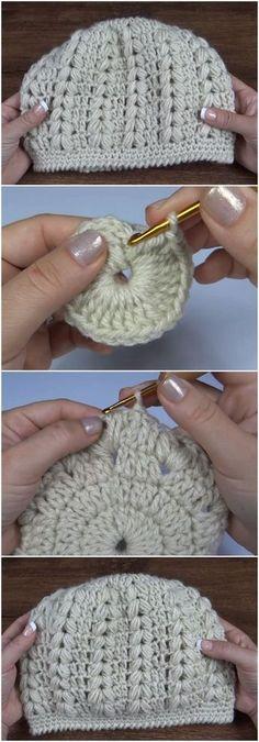 Crochet Very Beautiful Beanie Hat