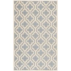 Cambridge Silver/Ivory 4 ft. x 6 ft. Area Rug