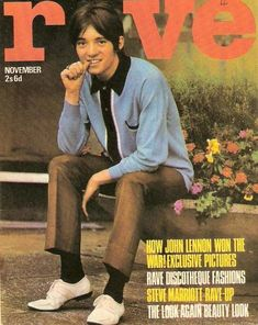Steve Marriot of the Small Faces. Beatles, Happy Birthday Steve, Ronnie Lane, Steve Marriott, The Ventures, Northern Soul, Music Magazines, Small Faces, Rock Chic