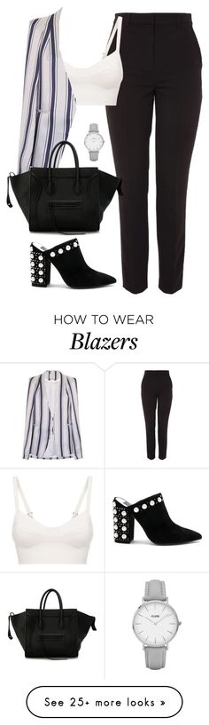 """""""Untitled #4680"""" by magsmccray on Polyvore featuring Topshop, La Perla, Lavish Alice, CÉLINE, CLUSE and Dolce Vita"""