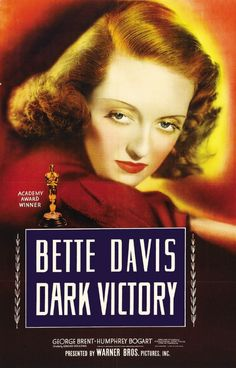 Bette Davis, Summer Under the Stars, TCM, The Petrified Forest, Jezebel, Dark Victory, Now Voyager, Dick Cavett, Joan Crawford