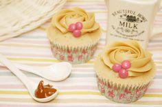 Cup cakes de dulce de leche